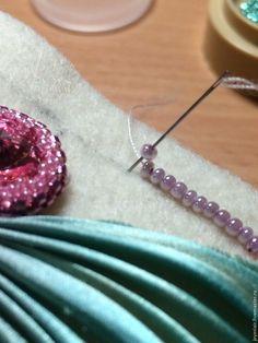 """Как сделать чудесный браслет """"Primavera"""" с шибори-лентой - Ярмарка Мастеров - ручная работа, handmade"""