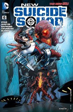 New Suicide Squad (2014) #6 #DC #NewSuicideSquad (Cover Artist: Juan E. Ferreyra) Release Date: 1/14/2015