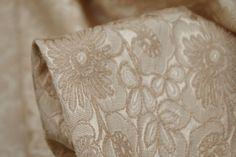 Coffee Gelato Brocade - Jacquards - Tessuti Fabrics - Online Fabric Store - Cotton, Linen, Silk, Bridal & more