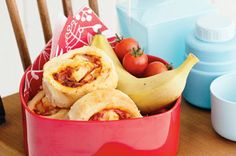 Hawaiian Pizza Scrolls     Ingredients   2 cups self-raising flour   30g butter, chilled, chopped   3/4 cup milk   1/4 cup tomato paste   1/2 cup grated tasty cheese   100g Primo shaved ham, chopped   225g can pineapple pieces, drained