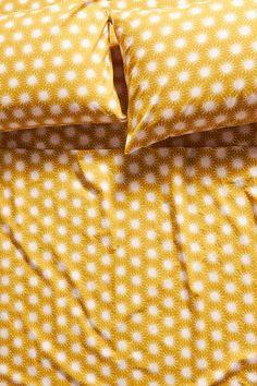 Soleil Sheet Set | Anthropologie Best Sheet Sets, Best Sheets, Twin Sheets, Twin Sheet Sets, Yellow Bed Sheets, Sheets Bedding, Yellow Bedding, Bed Throws, Bed Pillows