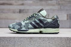 ADIDAS ZX FLUX DECON (CAMO PACK). Well done Adidas