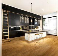0 8141 White Quartz™ - Freedom Kitchens - The Block 2016 - Maurel Aucar - Jess Frazer Home Decor Kitchen, Kitchen Interior, Kitchen Ideas, Kitchen Planning, Kitchen Rules, Black Kitchens, Cool Kitchens, Industrial Kitchens, Home Design
