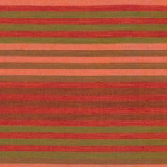 Kaffe Fassett - Woven Stripes - Caterpillar Stripe in Tomato/ - www.hawthornethreads.com