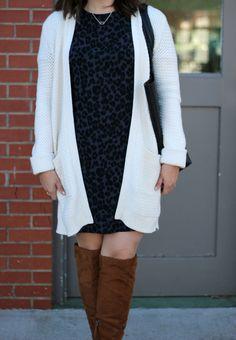 With Style & Grace   Versatile Leopard Print Dress