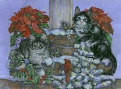 Cats Christmas Donna Race