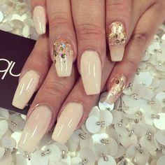 laqué nail bar @laquenailbar | Websta ❤ liked on Polyvore featuring beauty products, nail care and nails