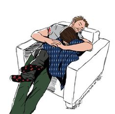"""tuntematonkorppi: """"anon requested steve and bucky snoozing all cuddled up in each other. bucky likes to pretend he's not an overgrown man too big to fit in steve's lap. Marvel Dc, Marvel Fan Art, Marvel Funny, Marvel Memes, Marvel Actors, Steve Rogers Bucky Barnes, Bucky And Steve, Winter Soldier, Stucky Fanfiction"""