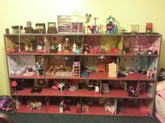 Breanna's monster high house. Her daddy built it and I decorated it. This thing is awesome!!!!