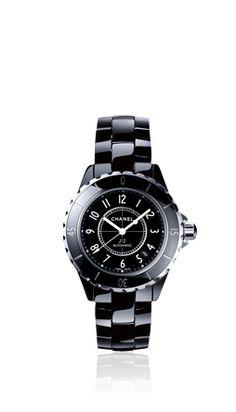 Chanel - J12 - Classic black matte
