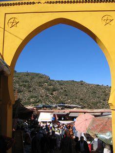 South Atlas,  Imouzer -  Market #Morocco Tangier, Atlas Mountains, North Africa, Israel, Turkey, Marketing, Beautiful, Morocco, Turkey Country