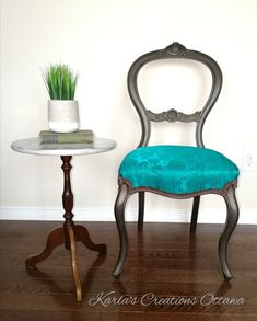 Hand painted with PIY Bronze Dining Chairs, Bronze, Hand Painted, Table, Furniture, Home Decor, Decoration Home, Room Decor, Dining Chair