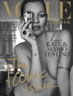 Vogue The Book - Kate Moss & Mario Testino - Cover Vogue Magazine Covers, Fashion Magazine Cover, Fashion Cover, Vogue Covers, Mario Testino, Kate Moss, Ella Moss, Top Models, Magazin Covers