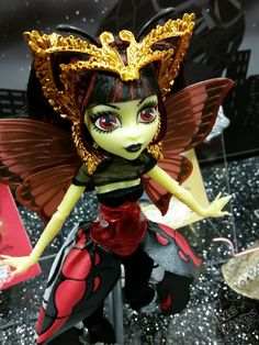 Photo credit : Paul Nicholasi (paulnomad on flickr).  Luna Mothews from the Monster High Boo York, Boo York line coming Fall 2015.