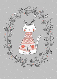 Malu Lenzi - Malulenzi_winter_silver Cat