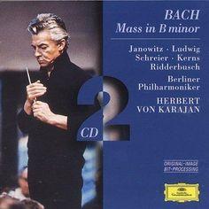 Precision Series Janowitz/Karajan/Berlin Philharmonic Orchestra - Bach:Mass in b Minor