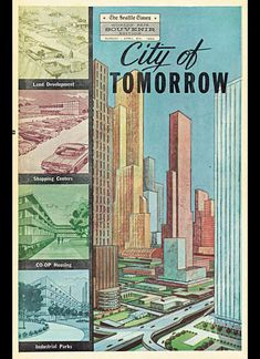 Image result for poster sci fi future cities