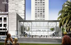 Apple's Revised San Francisco Store Approved