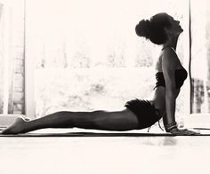 What a lovely upward facing dog pose. Enjoyed and repinned by yogapad.com.au