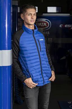 Yamaha Motor, Athletic, Jackets, Blue, Collection, Style, Fashion, Down Jackets, Moda