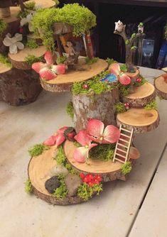 47 erstaunliche Miniatur-Garten-Design-Ideen - Ideaboz, You are in the right place about Garden Design fence Here we offer you the most beautiful Mini Fairy Garden, Fairy Garden Houses, Diy Garden, Gnome Garden, Garden Crafts, Garden Ideas, Garden Types, Garden Cottage, Shade Garden