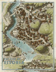 fantasy odyssey dragonlords map maps estoria arcanum worlds sky artstation sirinkman jesse setting maker deviantart