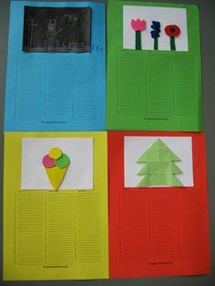 Verjaardagskalender: (foto) per seizoen maken en afprinten zomer: zonnehoedje(petje) + bril herfst: in het bos (tussen de blaadjes) winter: muts + sjaal + handschoenen lente: tussen de paaslelies...