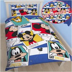 Mickey Mouse Mickey Mouse Single Doona Cover Set. Check it out!