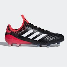 672cf2b5b3f COPA 18.1 FIRM GROUND BOOTS Core Black Ftwr White Real Coral
