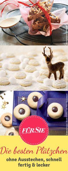 Bei uns findet ihr die leckersten Plätzchen! Klickt euch jetzt durch unsere liebsten Keksrezepte zu Weihnachten!