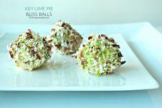 Key Lime Pie Bliss Balls