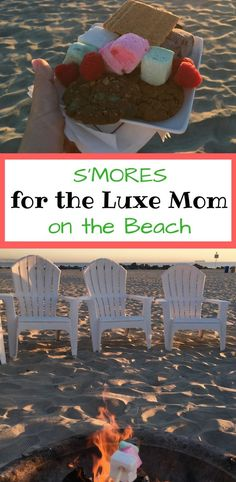 Kids want S'mores but you're a Luxe Mom that doesn't camp. The Hotel del Coronado has you covered with house-made marshmallows and champagne on their legendary beach.