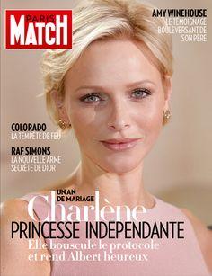 Paris Match n° 3294, édition iPad du 5 juillet 2012. Charlène de Monaco en une. Le témoignage bouleversant du père d'Amy Winehouse, le Colorado face à la tempête de feu...