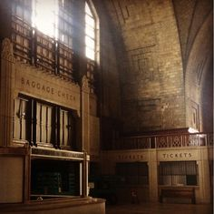 Inside Buffalo's beautiful abandoned Central Terminal
