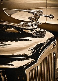 Classic Cars - Hood Ornament..Brought to you by #HouseofInsurance in #EugeneOregon