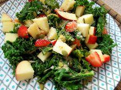 apple kale breakfast salad