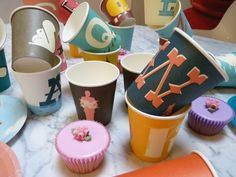 A to Z paper cups
