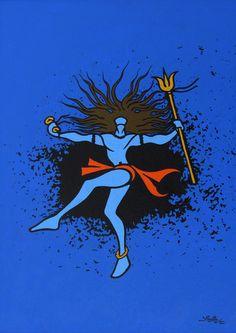 lord shiva by abhishek singh - Google Search