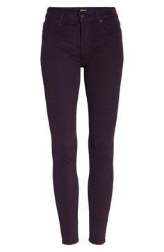Hudson Nico Super-skinny Jeans In Velvet Plum Super Skinny Jeans, Skinny Pants, Hudson Jeans, Jeans Style, Black Jeans, Velvet, Clothes, Shopping, Women