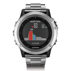 Garmin Fenix 3 HR GPS Watch with Titanium and Sport Bands * Check out the image by visiting the link. (This is an affiliate link) Smartwatch, Garmin Fenix 3 Hr, Cool Watches, Watches For Men, Popular Watches, Unusual Watches, Mvmt Watches, Android Watch, Casio G Shock