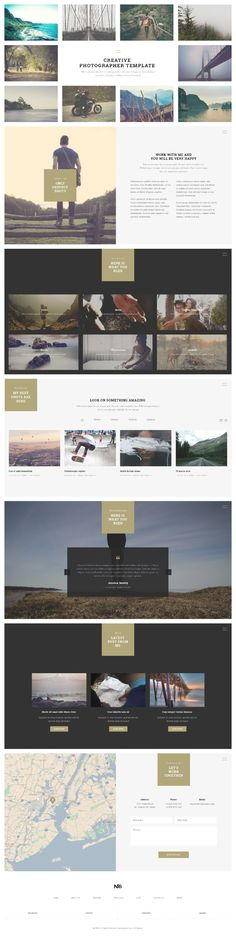 Web Design Inspiration from NRG part 2 1 Pop Design, Web Design Tips, Best Web Design, Site Design, Web Layout, Layout Design, User Experience Design, Ui Web, Photoshop