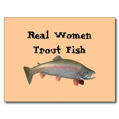 Real Women Trout Fish