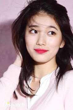 Bae Suzy, ik some pple will think im crazy for this, since shes rlly beautiful...and im obviously not. But she resembles like an order version of me with makeup. we both have alike features personally. Even the hair, eyebrows..tho mines are thicker, the eyes, and lips, and i guess the nose idk, chubby cheeks, face shape