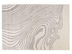 Patterned rectangular rug EBRU by Toulemonde Bochart