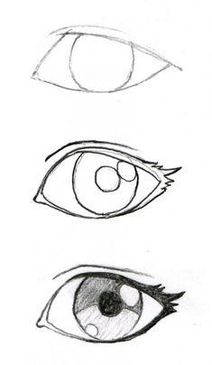 Anime eyes drawing, easy manga drawings, drawings of eyes, easy drawings sketches, Sad Drawings, Art Drawings Sketches Simple, Pencil Art Drawings, Drawing Faces, Easy Manga Drawings, Anime Eyes Drawing, Pencil Sketching, Naruto Drawings, Realistic Drawings
