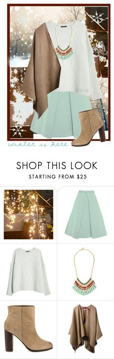 """""""Pastel Winter (Contest)"""" by boho-at-heart ❤ liked on Polyvore featuring TIBI, MANGO, ALDO and Burberry"""
