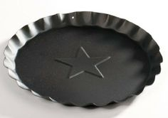 Craft Outlet Tin Plate, 7.5-Inch, Black, Set of 4 - http://cookware.everythingreviews.net/8166/craft-outlet-tin-plate-7-5-inch-black-set-of-4.html