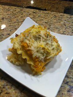 Niki Cooks for Interstitial Cystitis: Zucchini Butternut Squash Lasagna