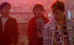 The Lost Boys (1987). Stylish tale of a mother and her sons moving to Santa Carla, the murder capital of the world, to live with her father. Turns our the town is infested with young vampires. Kiefer Sutherland is menacing, while Jason Patric and Jami Gertz sizzle with chemistry. Corey Haim and Corey Feldman also star.