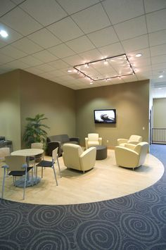 Teaching areas. Geneva, IL #lobby #church